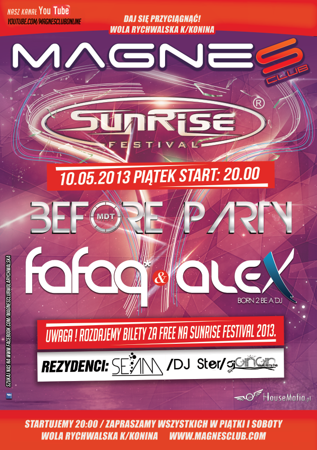 BEFORE SUNRISE (FAFAQ & ALEX) (10.05.2013)