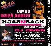 IBIZA (Świedziebnia) Dzień Kobiet - DJ Omen (09.03.2013)