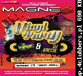 VINYL PARTY @ MAGNES CLUB WTÓREK 15.06.2013