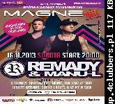 REMADY & MANU-L. @   MAGNES CLUB WTÓREK  LIVE SHOW
